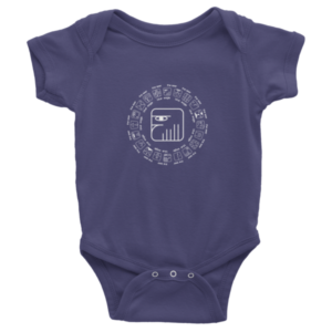 Infant Onesie – Blue Eagle