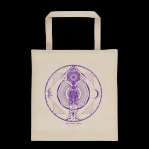 Tote bag – Mandala purple