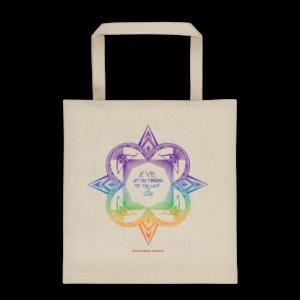 Tote bag – Star mandala rainbow