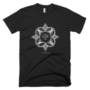 Men's T – Star mandala white