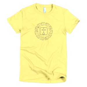 Women's T – Yellow Sun