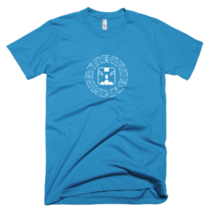 Men's T – Blue Monkey
