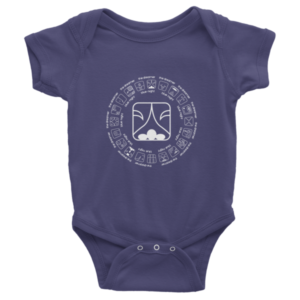 Infant Onesie – Blue Night