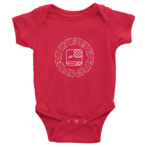 Infant Onesie – Red Serpent