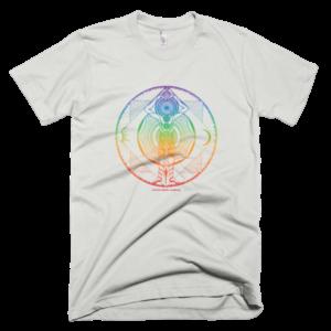 Men's T – Mandala rainbow