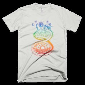 Men's T – Quetzalcoatl rainbow