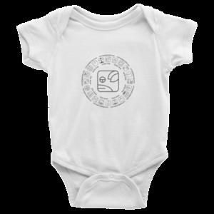 Infant Onesie – White Dog