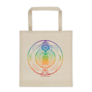 Tote bag – Mandala rainbow
