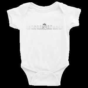 Infant Onesie – White Spectral Dog