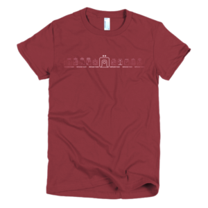 Women's T – Red Lunar Moon