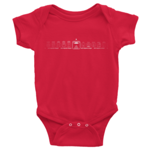 Infant Onesie – Red Magnetic Dragon