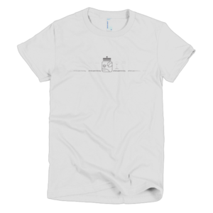 Women's T – White Spectral Dog