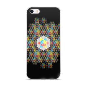 iPhone Case: Cube of the Law – Radialize on Black