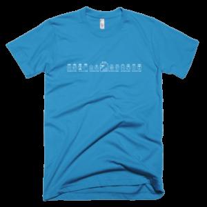 Men's T – Blue Electric Eagle